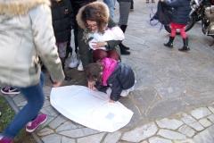 Momenti più significativi, dell'indimenticabile giornata passata con i bambini e lo staff dell'associazione Il Piccolo Principe Onlus, Busto Arsizio - Epifania 2015