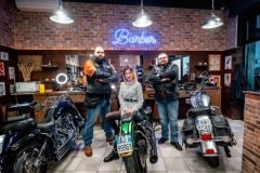 Motoclub SS33 Sempione testimonial del nuovo MAMBO Barber Shop & Ladies - Legnano