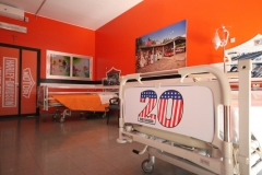 Progetto della cameretta in stile Biker nel reparto Pediatria Ospedale di Busto Arsizio - Kustom Road ® Edizione 2017