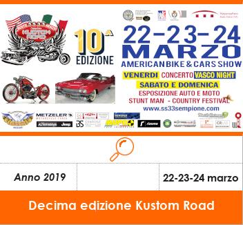 Visualizza dettaglio American Bike and Cars Show - Kustom Road Edizione 2019
